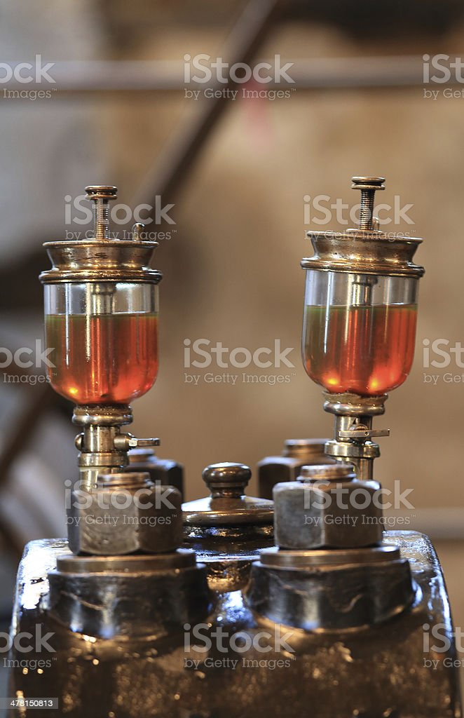 dampfmaschine 2 stock photo