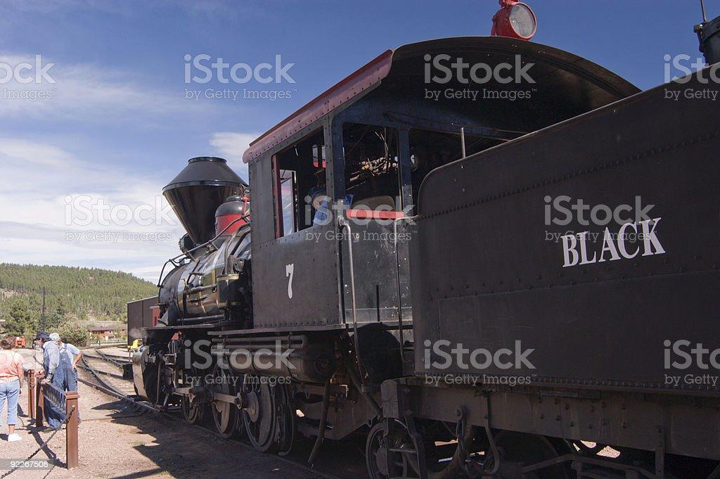 Steam Engine 2 stock photo