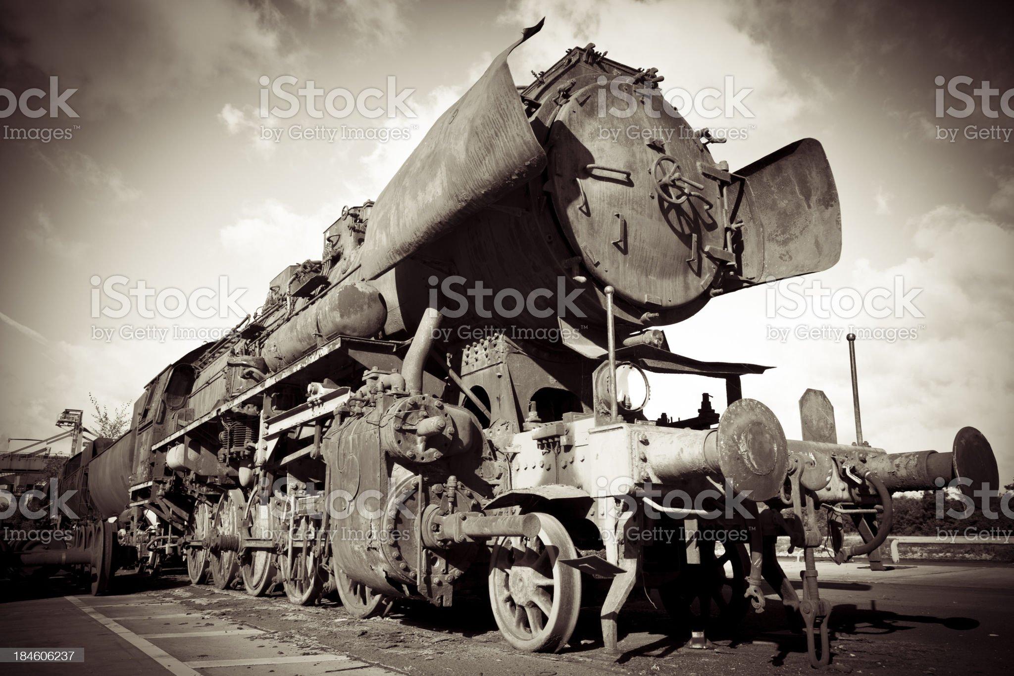 steam engine locomotive royalty-free stock photo