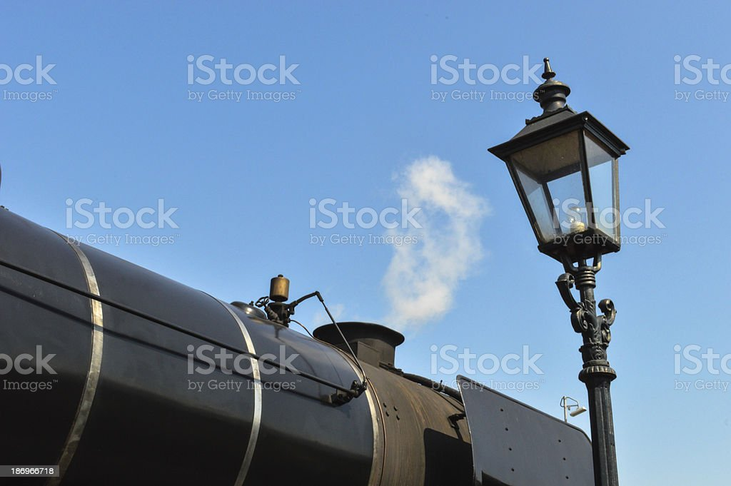 Steam Engine royalty-free stock photo