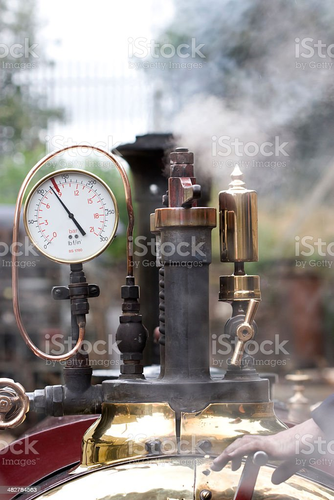 steam engine train royalty-free stock photo