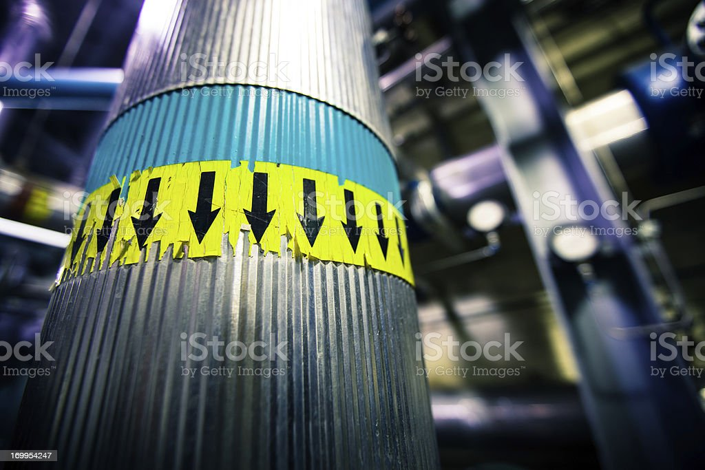 Steam Exhaust Pipe royalty-free stock photo
