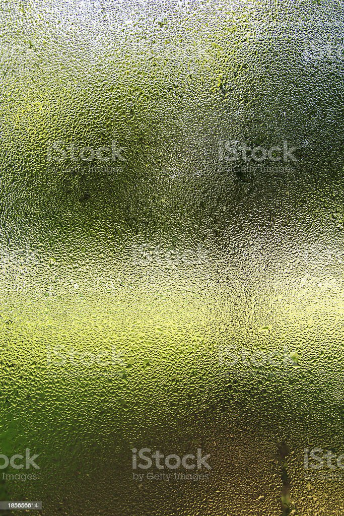 Steam glass. royalty-free stock photo