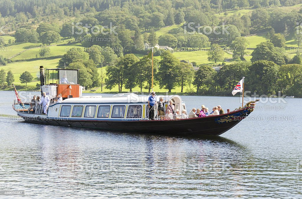 Steam Gondola stock photo