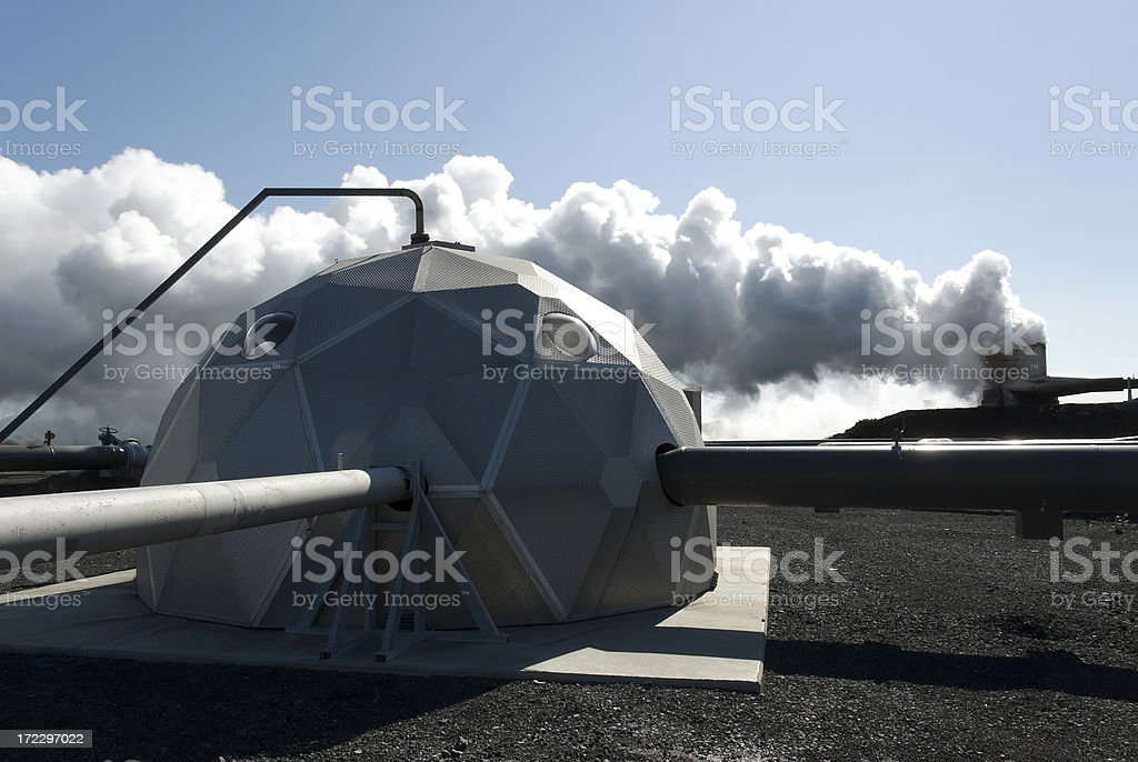 Steam in sunligth royalty-free stock photo