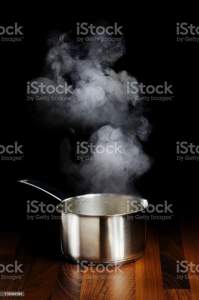 steam kitchen royalty-free stock photo