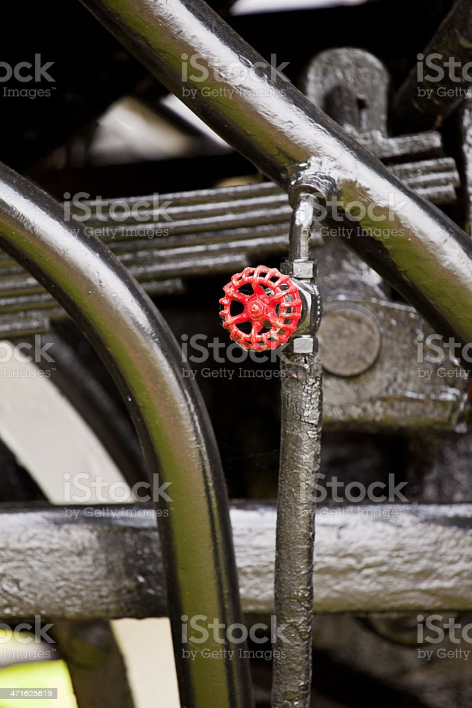 Steam Locomotive Close Up royalty-free stock photo