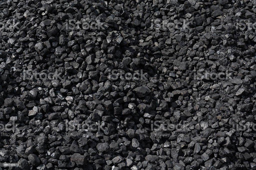 Steam locomotive coal stock photo