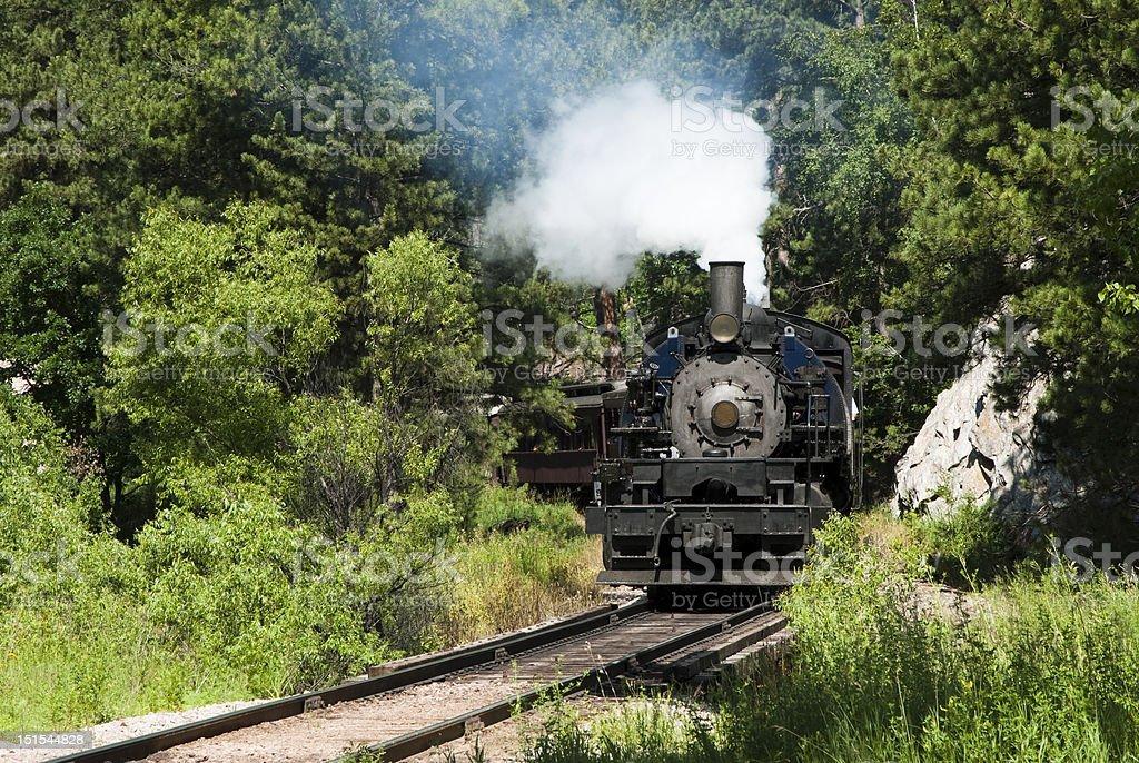 Steam Locomotive royalty-free stock photo