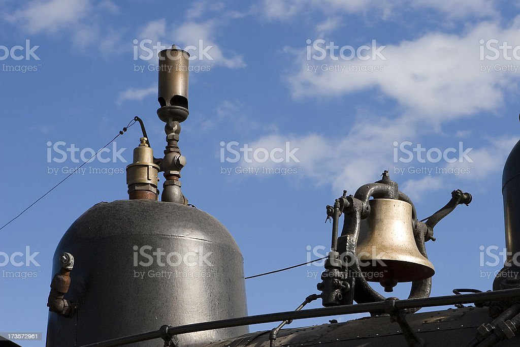 Steam Locomotive royalty-free stock photo