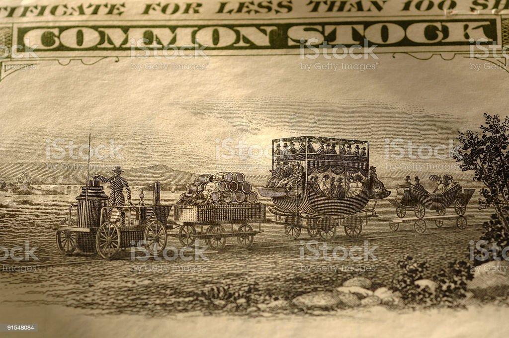 Locomotora de vapor foto de stock libre de derechos