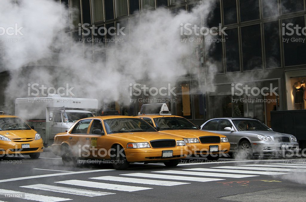 Steam - New York City royalty-free stock photo