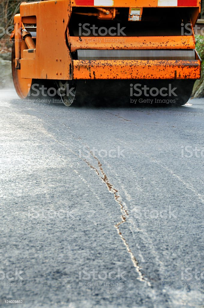 Steam Roller, Low Angle Abstract royalty-free stock photo
