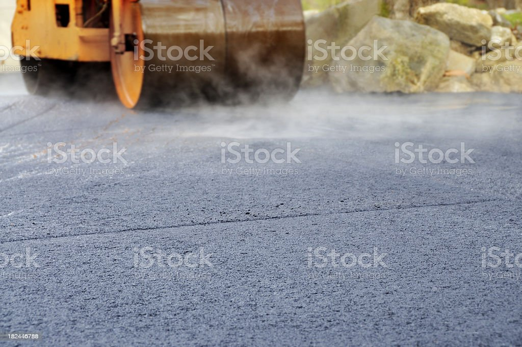 Steam Roller, Selective Focus Abstract royalty-free stock photo