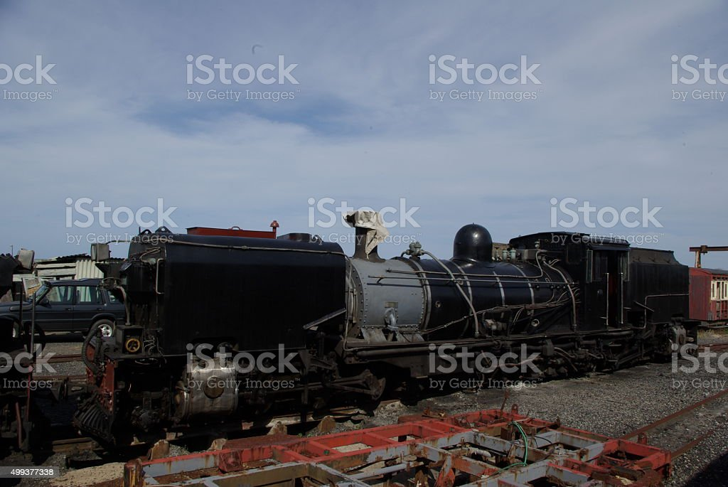 Steam service SA Class Ngga Railway stock photo