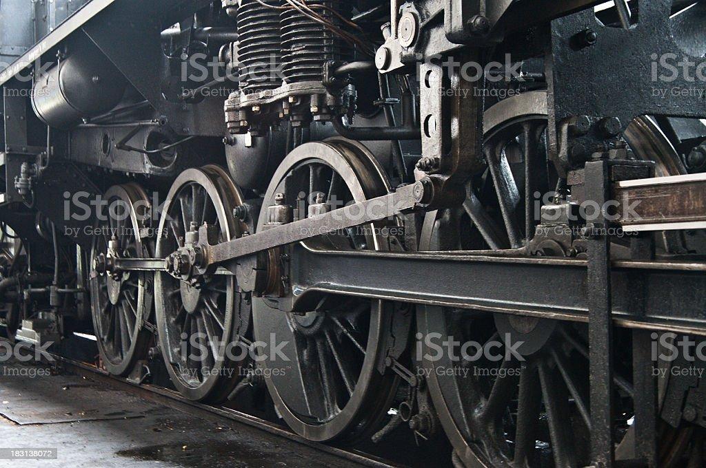 Steam Train Detail royalty-free stock photo