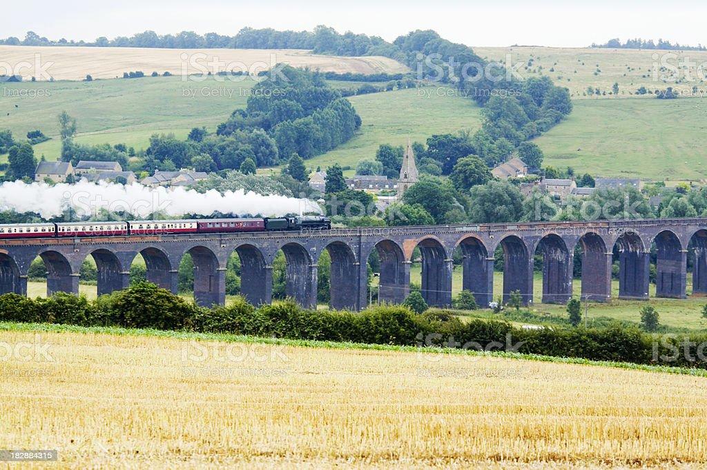 Steam Train Excursion stock photo