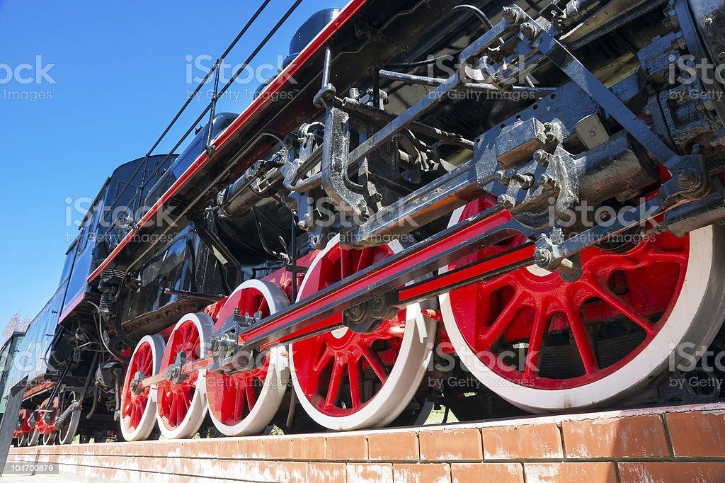 steam train royalty-free stock photo