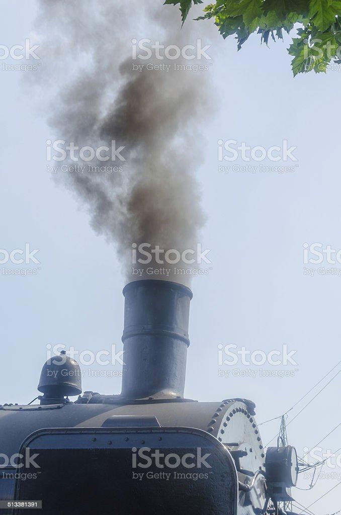 Steam Train, Smoke stock photo