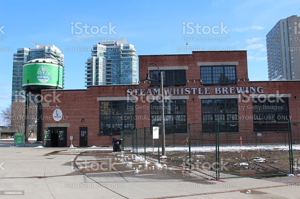 Steam Whistle Brewery stock photo