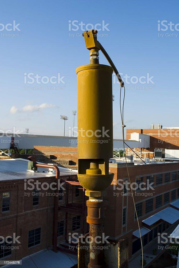 Steam whistle stock photo