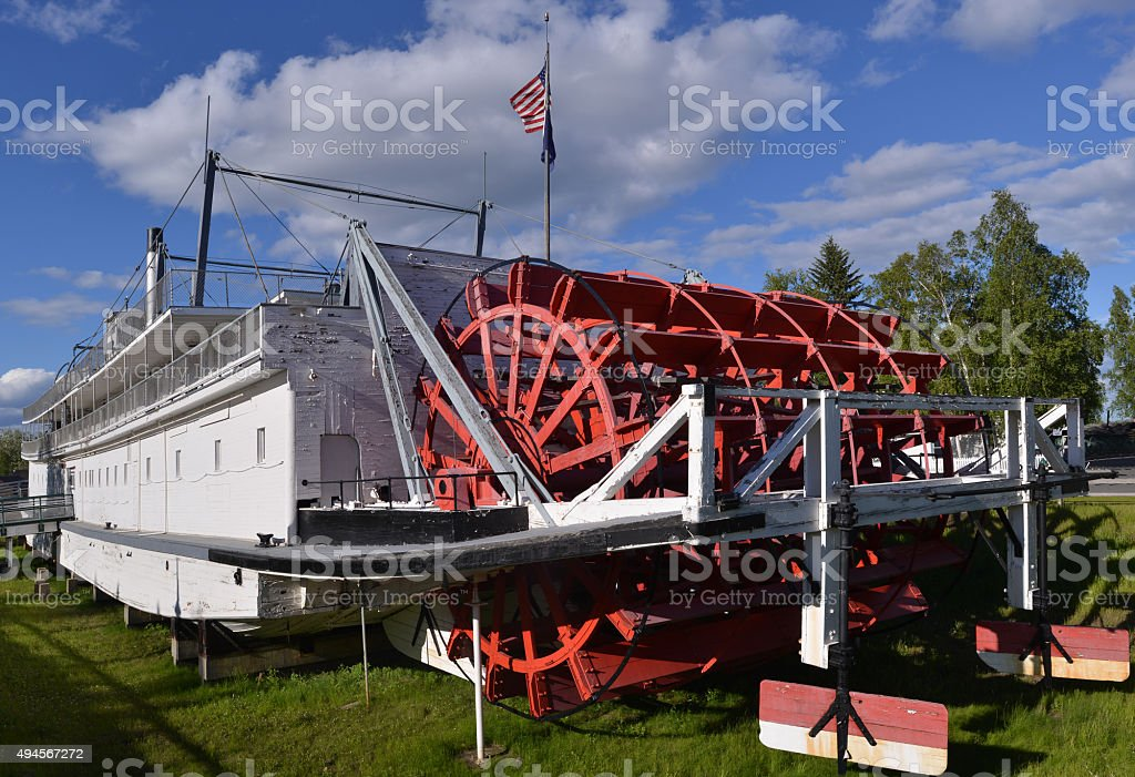 Steamboat, Alaska stock photo