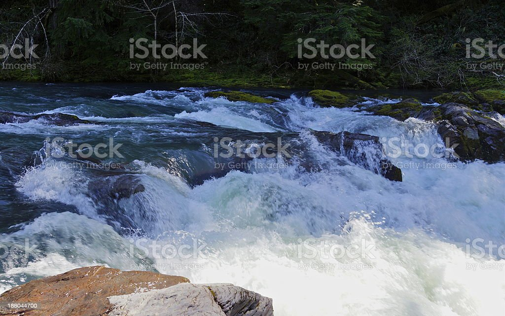 Steamboat Creek royalty-free stock photo