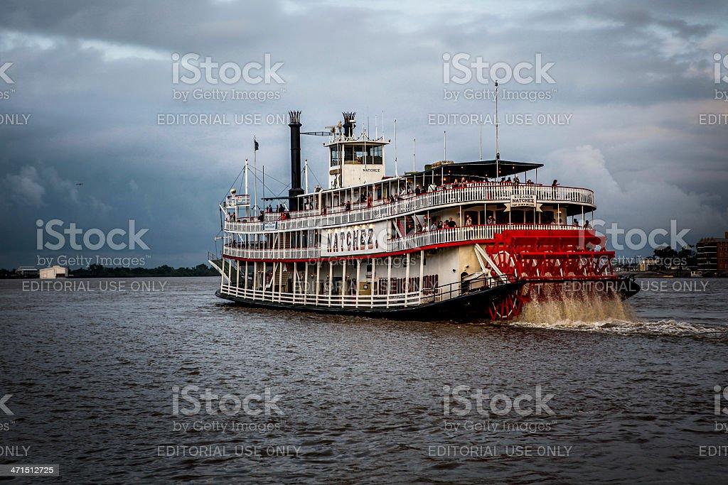 Steamboat Natchez stock photo