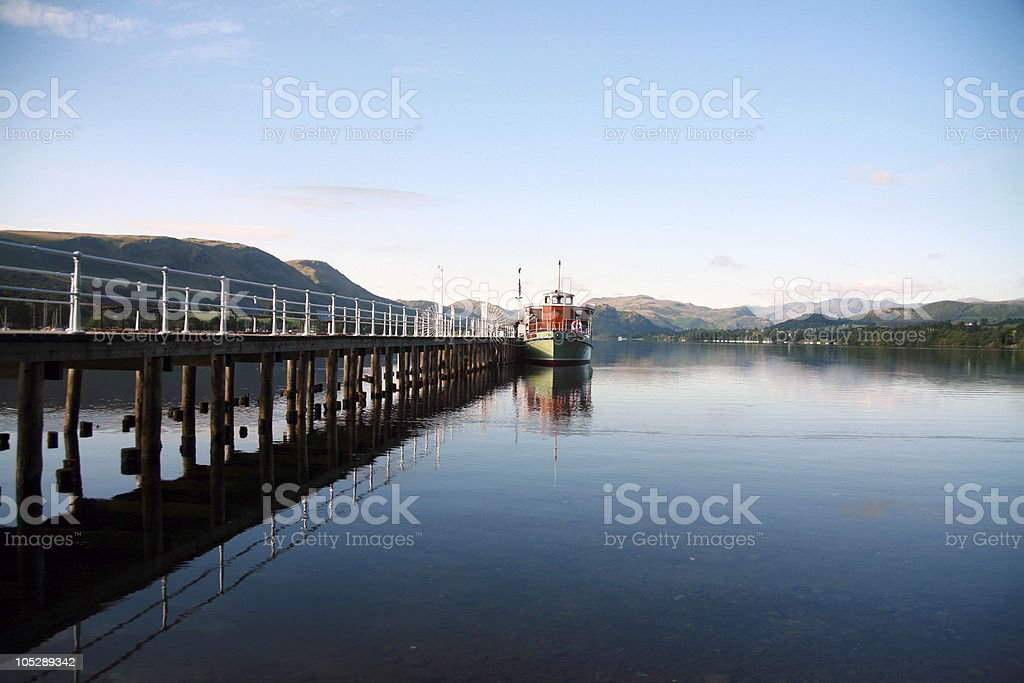 Steamboat (England) royalty-free stock photo