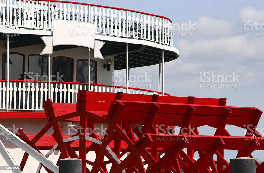 Steamboat stock photo