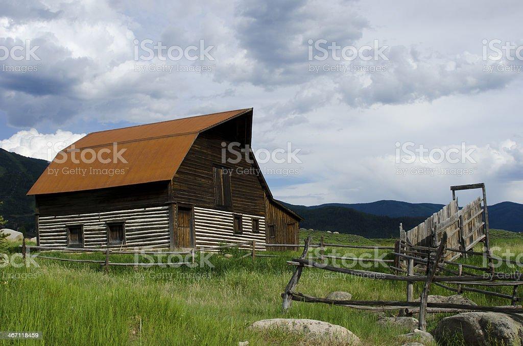 Steamboat Springs Barn stock photo