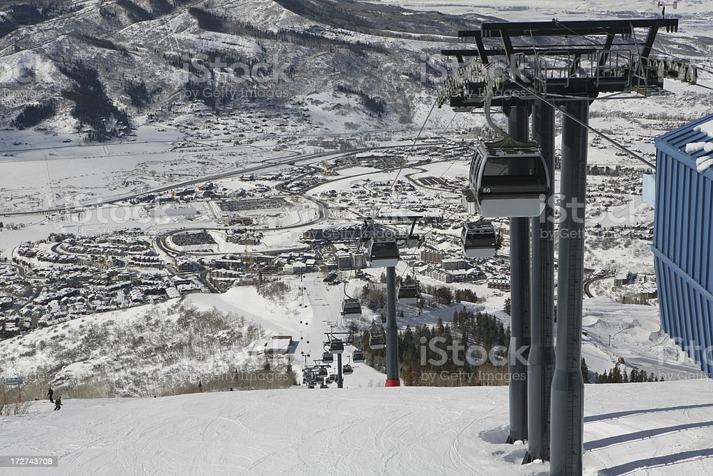 Steamboat Springs Colorado royalty-free stock photo