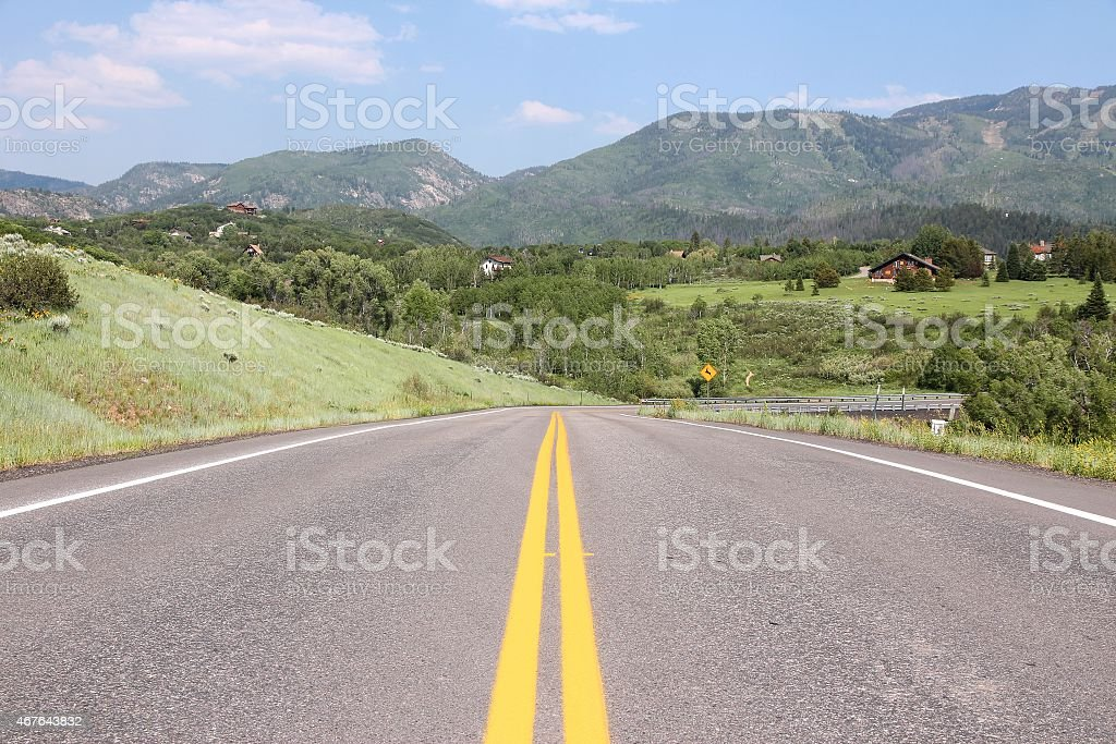 Steamboat Springs stock photo