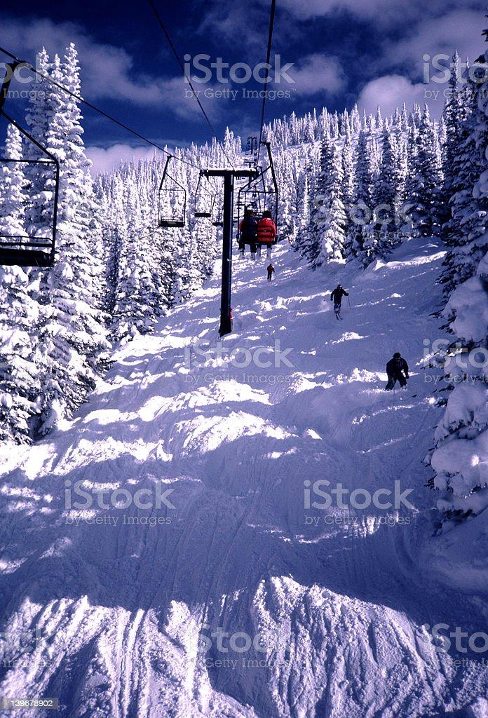 Steamboat Springs-Colorado stock photo