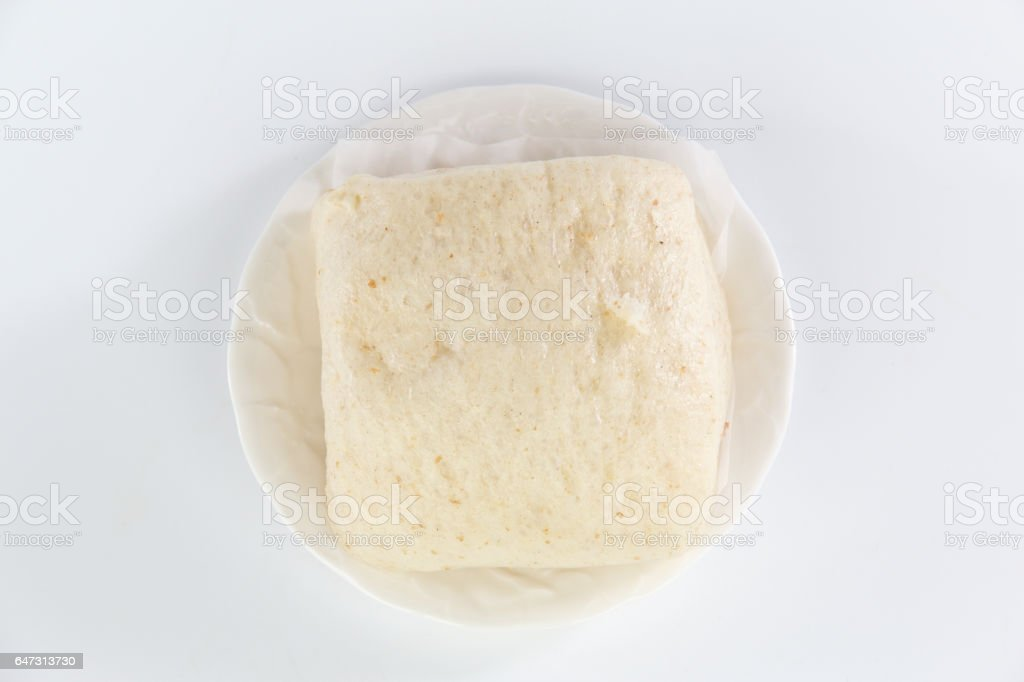 steamed bread stock photo