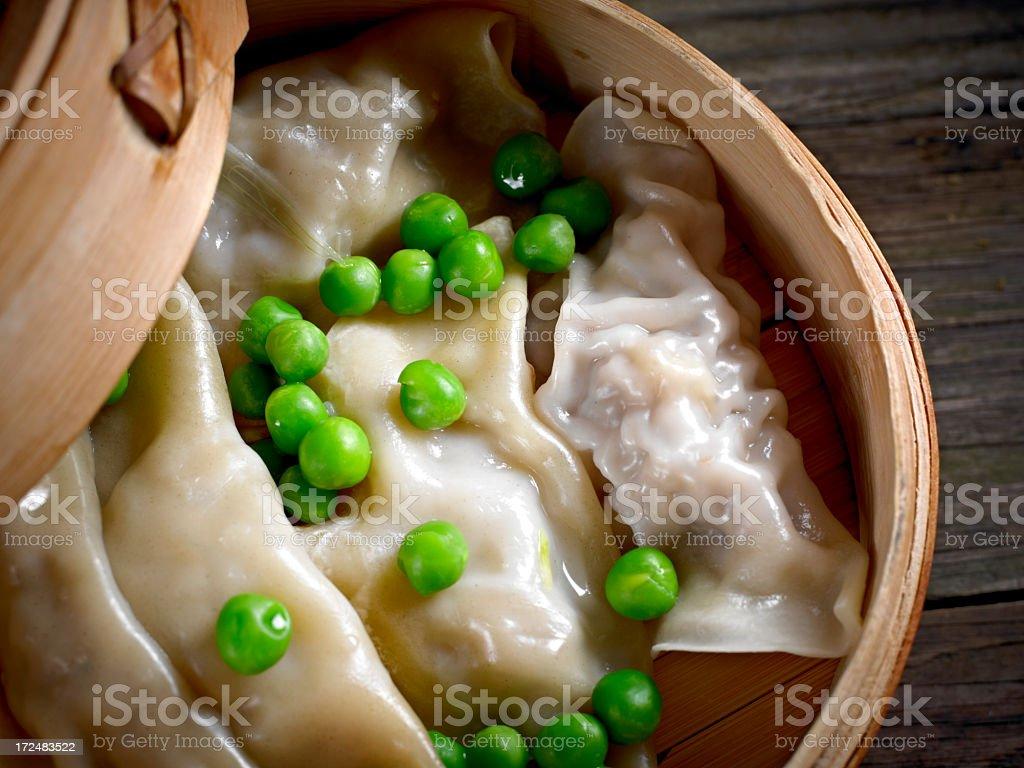 Steamed Dumpling royalty-free stock photo