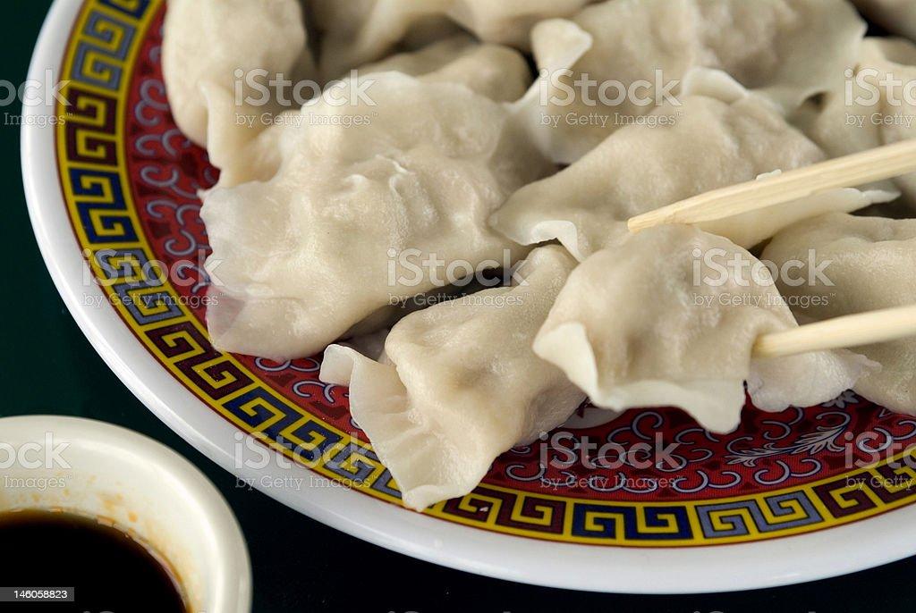 Steamed Dumplings 3 stock photo