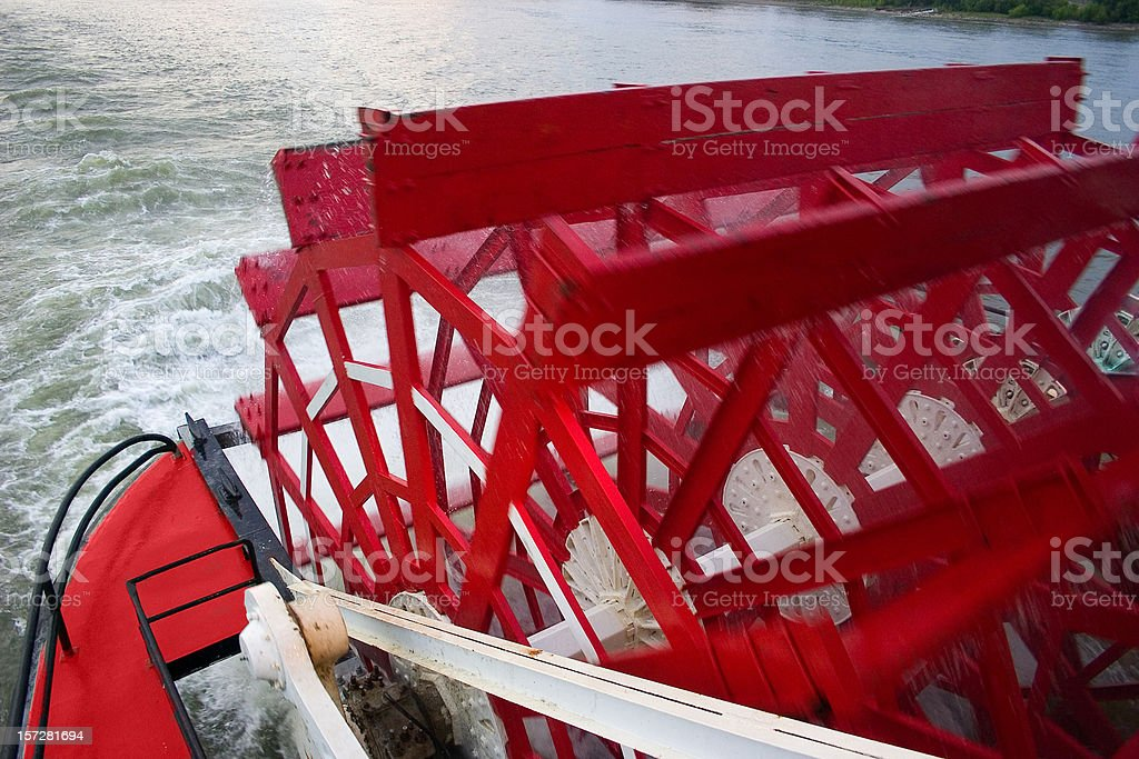 Steamer Paddle royalty-free stock photo