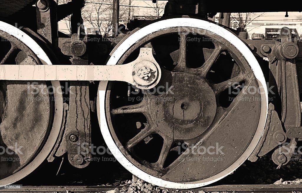 Steamer wheels royalty-free stock photo