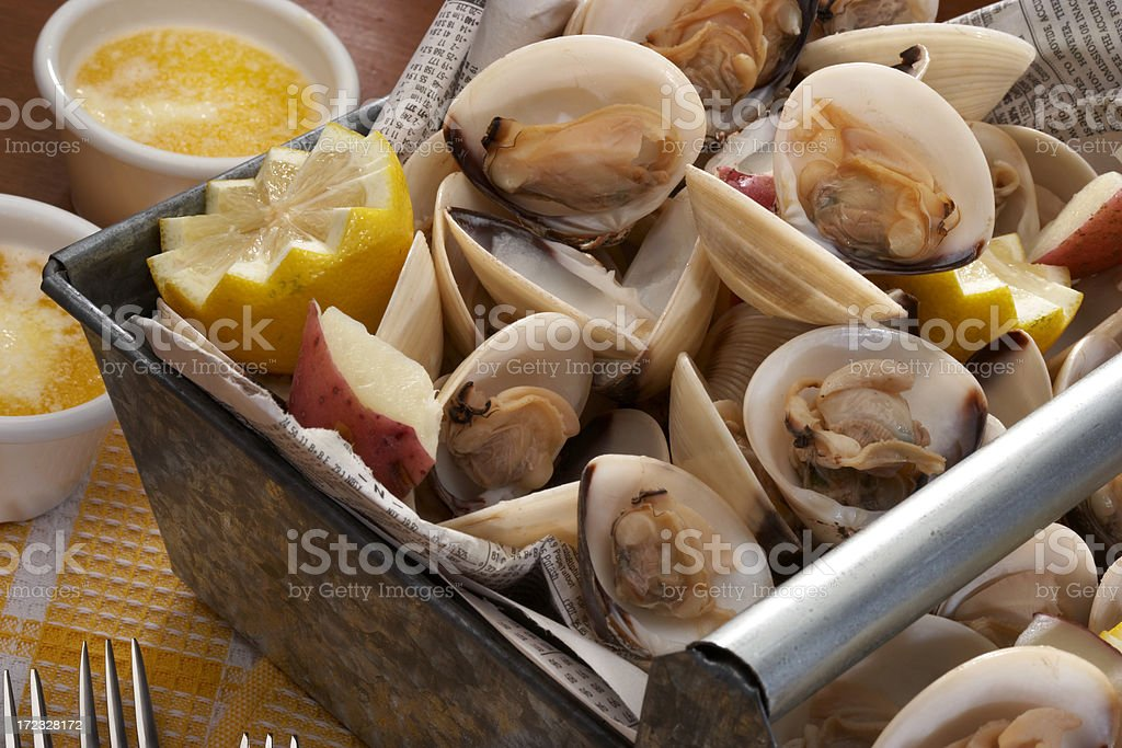 steamers royalty-free stock photo