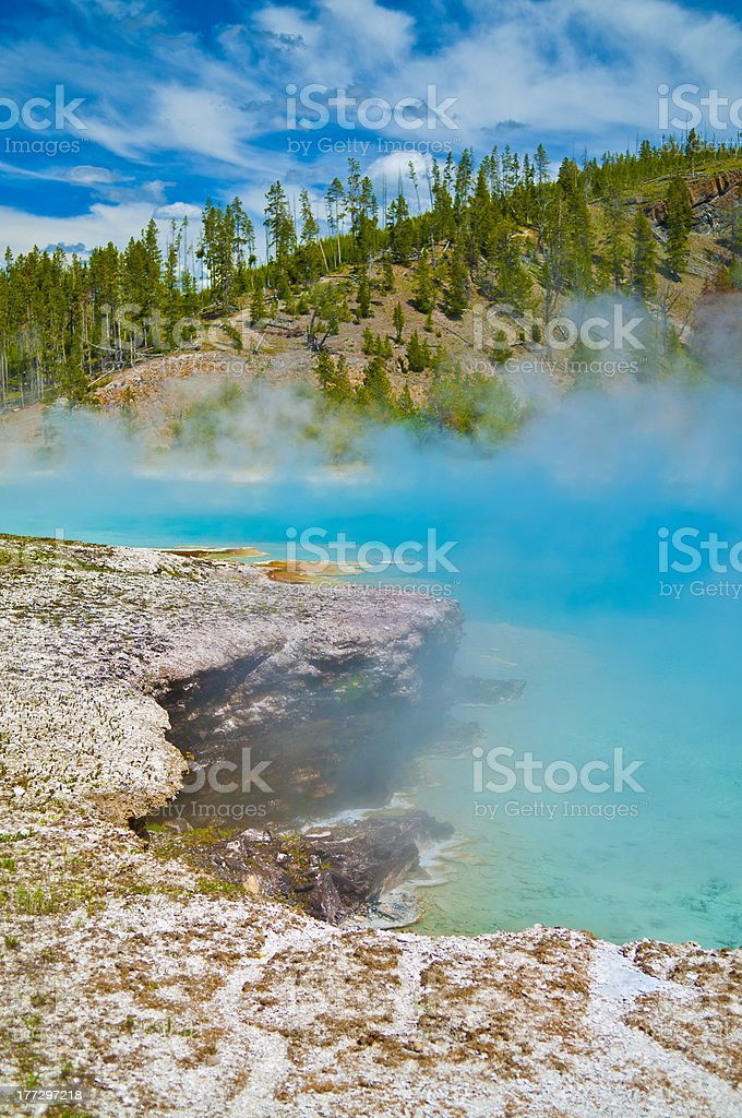 Steaming Beauty royalty-free stock photo