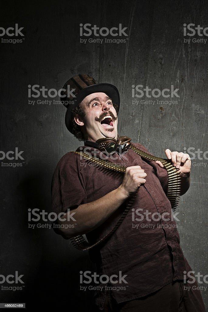 Steampunk Crazy stock photo