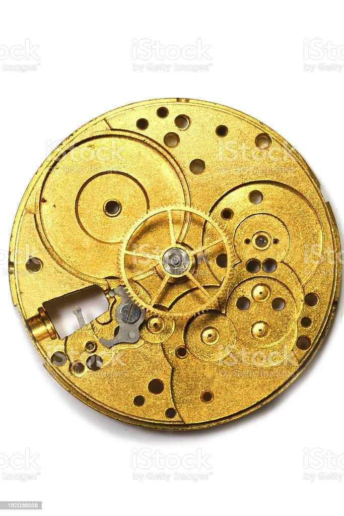 Steampunk Disk stock photo