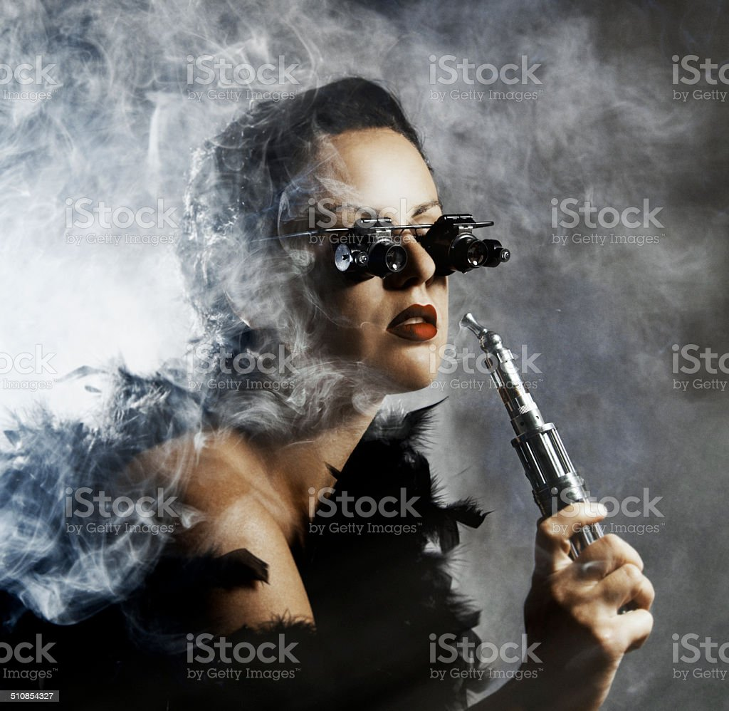 Steampunk Glamour stock photo