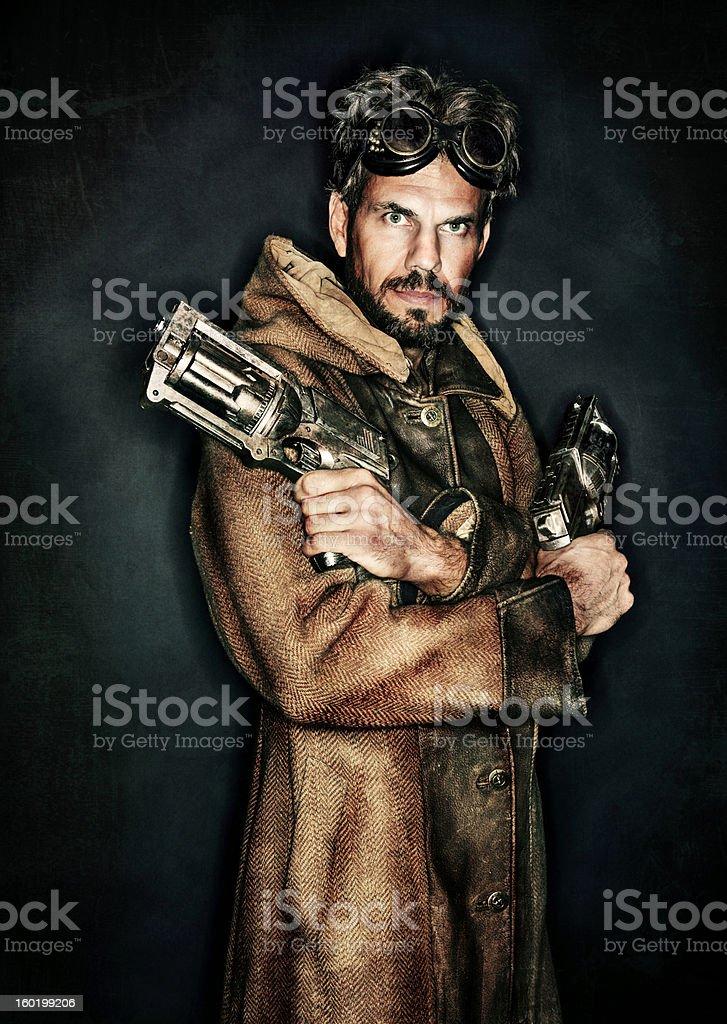 Steampunk Portrait stock photo