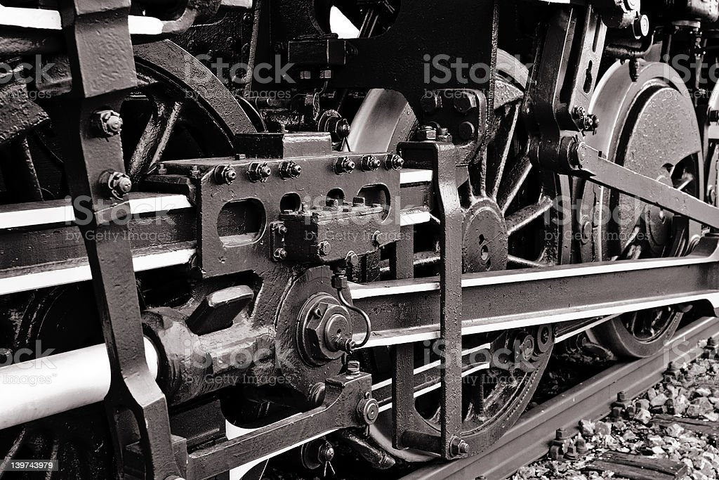 Steamtrain 1sw royalty-free stock photo