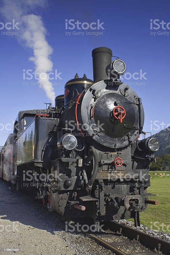 Steamtrain stock photo