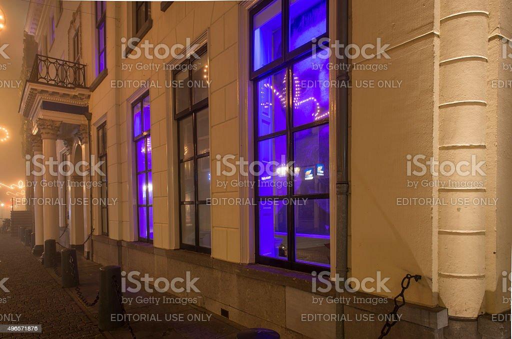 Stedelijk Museum in the city of Kampen stock photo