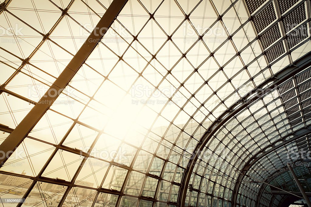Steel and glass building royalty-free stock photo
