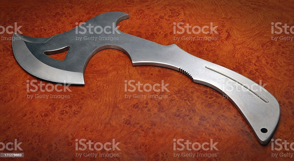 steel ax royalty-free stock photo